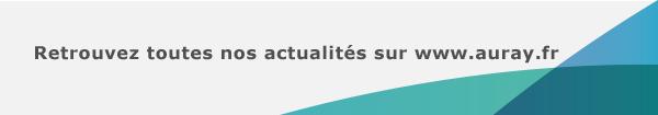 Retrouvez toutes nos actualités sur auray.fr